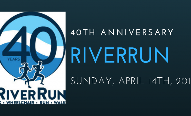 Celebrate our 40th Anniversary Race with us on April 14th!